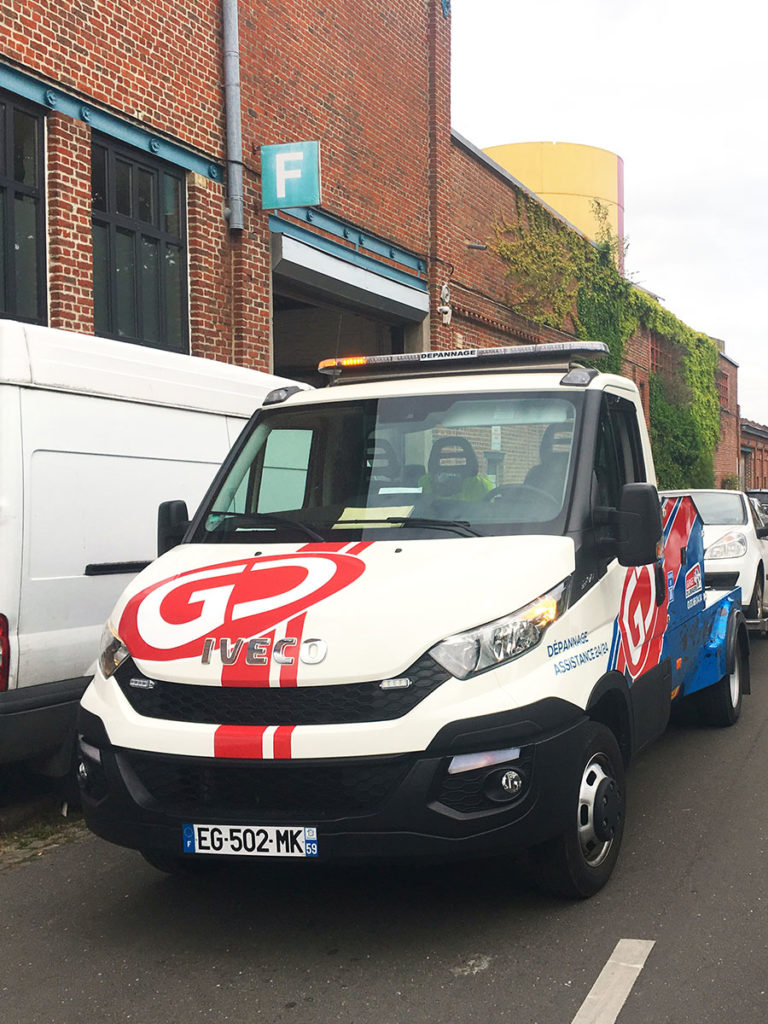 Covering - flotte vehicule