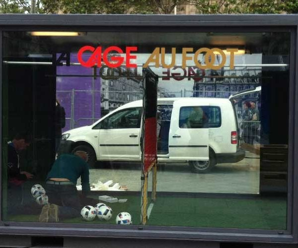 Signaletique - La Cage Au Foot