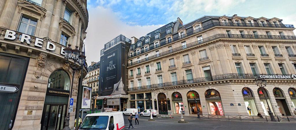 Echafaudage à Paris